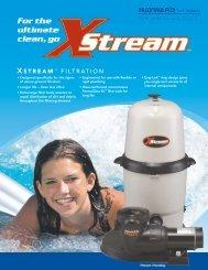 XStream™ Above-Ground Filters - Brochure