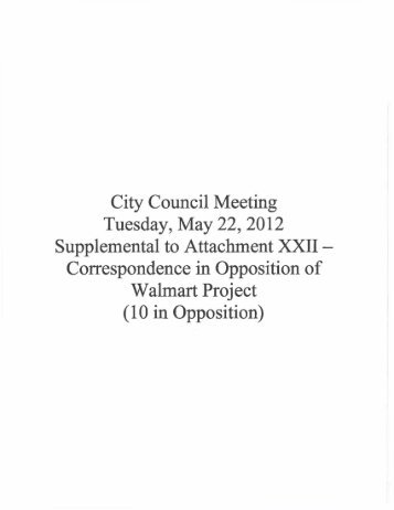Item #8 Supplemental to Attachment XXII ... - City of HAYWARD