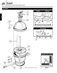 S160T Sand Filter Parts - Hayward