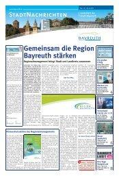 Amtsblatt Nr. 13/11 vom 23. September 2011 - Stadt Bayreuth