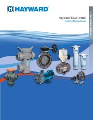 Valves and Accessories - Hayward Flow Control