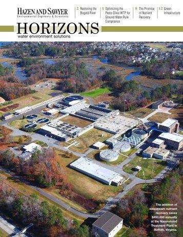 Download Horizons Summer 2012 Issue - Hazen and Sawyer