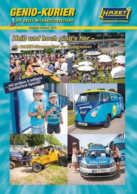 Ausgabe Sommer 2013 - Hazet