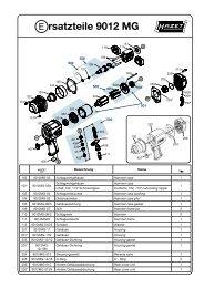 Ersatzteile 9012 MG