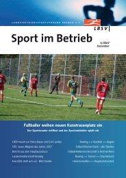 Sport im Betrieb - BBL Bowling Betriebssport-Liga