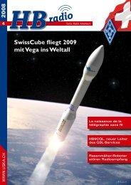 SwissCube fliegt 2009 mit Vega ins Weltall - USKA