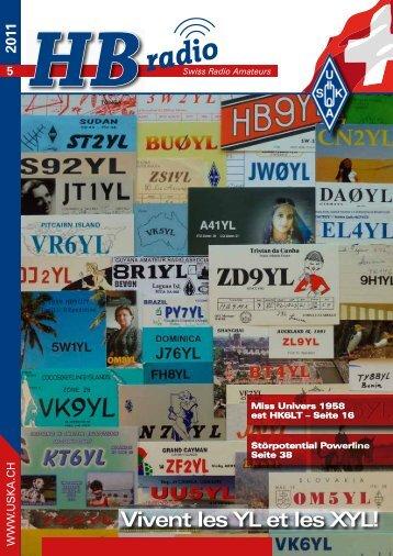 5 2011 HB Vivent les YL et les XYL! - USKA