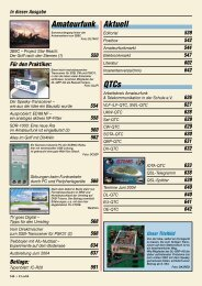 Amateurfunk Aktuell QTCs - HB9F