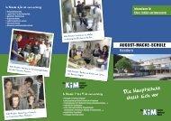 Die Hauptschule stellt sich vor - August-Macke-Schule Kandern