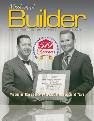MS Builder Magazine ANNIVERSARY ISSUE Sept/Oct 2011