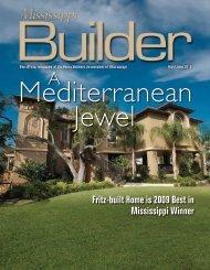 Fritz-built Home is 2009 Best in Mississippi Winner - Home Builders ...