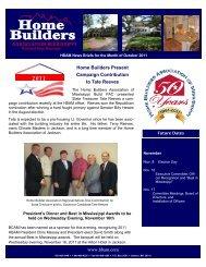 2011 - Home Builders Association of Mississippi