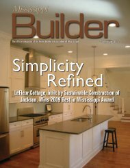 LeFleur Cottage, built by Sustainable Construction of Jackson, Wins ...