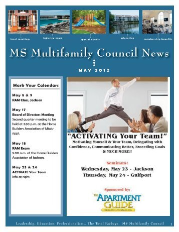 MS Multifamily Council May 2012 - Home Builders Association of ...