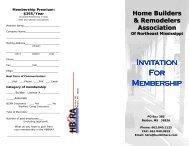 Application - Home Builders Association of Mississippi