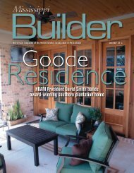 MS Builder Magazine Summer Issue 2012 - Home Builders ...