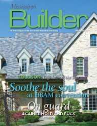 HBAM names 2008 Legislator of the Year - Home Builders ...