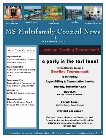 MS Multifamily Council September 2011