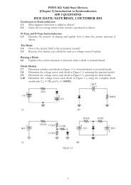 EEET 201: ELECTRONIC CIRCUITS