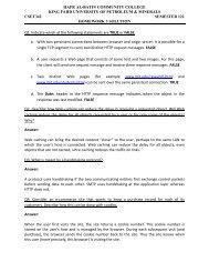 Homework 3 Solution - Hafr Al-Batin Community College(HBCC)