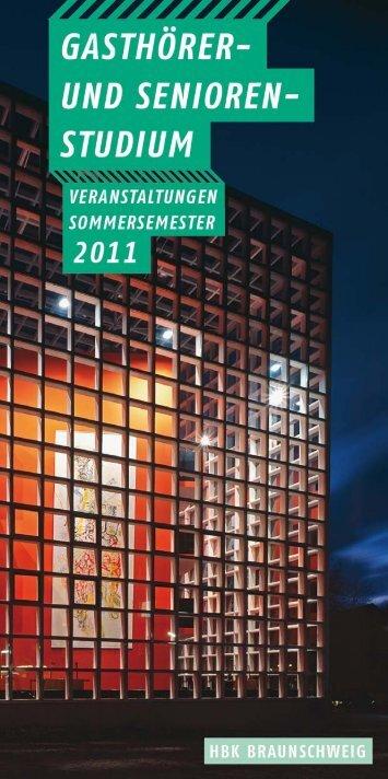 GASTHÖRER - Hochschule für Bildende Künste Braunschweig