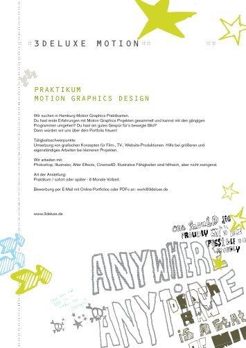 Praktikum 3d design und entwicklung metamatix ag for Praktikum design