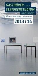 PDF-Version können Sie hier - Hochschule für Bildende Künste ...