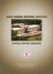 Annual Report 2008-2009 - Homi Bhabha National Institute
