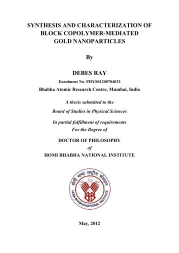 PHYS01200704032 Debes Ray - Homi Bhabha National Institute