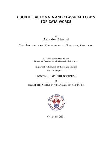 hbni thesis submission