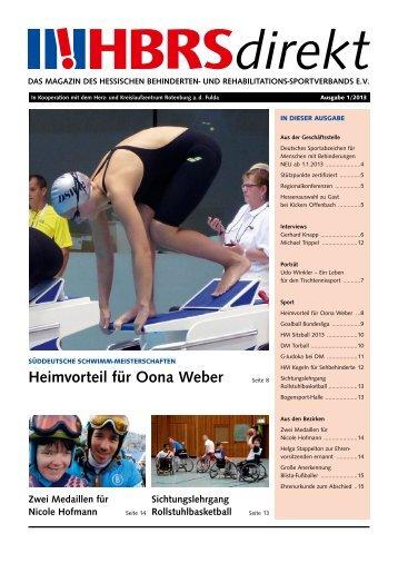 Heimvorteil für Oona Weber - Hessischer Behinderten