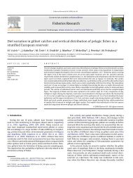 Fisheries Research Diel variation in gillnet catches and vertical ...