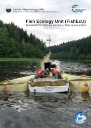 Fish Ecology Unit (FishEcU) - Biology Centre of the Academy of ...