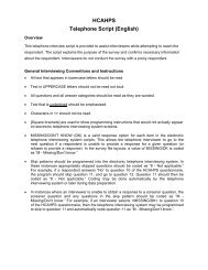 HCAHPS Participation Form For Hospitals Self-Administering