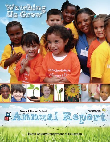 Head Start Area I Annual Report 2009/2010 - Harris County ...