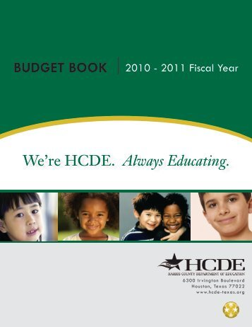 FY 2010-11 - Harris County Department of Education
