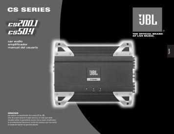 car audio amplificador manual del usuario - Hci-services.com