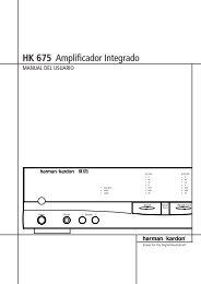 HK 675 Amplificador Integrado - Hci-services.com