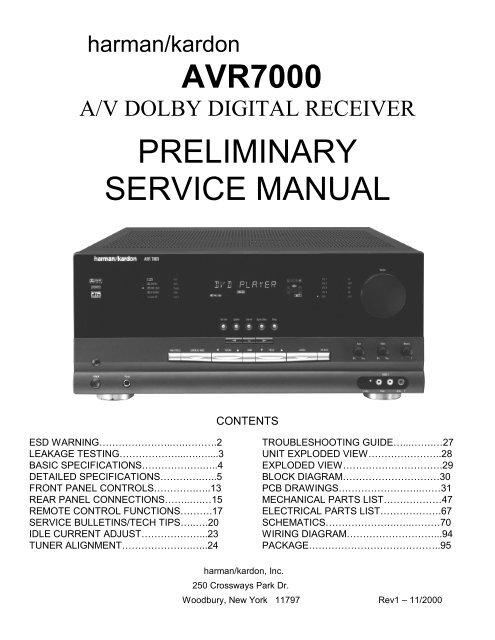 york tech manual