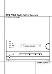 AVR 7300 Audio-/Video-Receiver - Hci-services.com