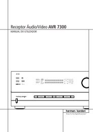 Receptor Áudio/Vídeo AVR 7300 - Hci-services.com