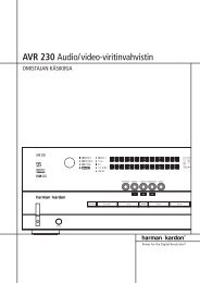 AVR 230 Audio/video-viritinvahvistin - Hci-services.com