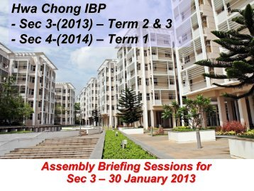 Hwa Chong IBP