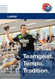 Download Leitbild 2011 - HC Kriens-Luzern
