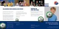 willkommen beim handballclub kriens besuche ... - HC Kriens-Luzern