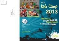 Fakten gibt es inkl. Anmeldeformular im Flyer - HC Kriens-Luzern