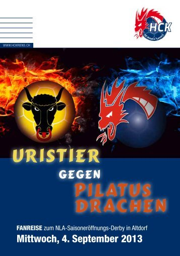 Eventflyer downloaden - HC Kriens-Luzern