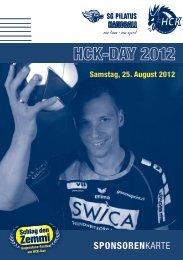 Samstag, 25. August 2012 - HC Kriens-Luzern