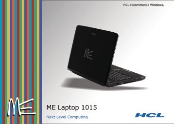 Series 1015 MS - HCL Infosystems