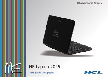 Series 2025 MS - HCL Infosystems